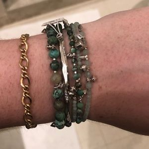 Turquoise Kendra Scott Supak Beaded Bracelet Set